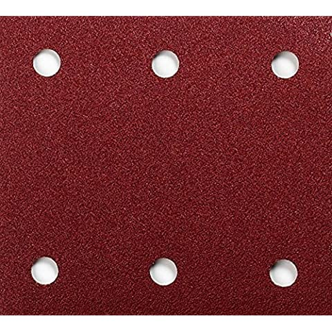 Makita P-33146 - Pack 10 Lijas Perforadas Con Velcro 115X102 Mm Para Bo4565-Bo4561 Grano 180