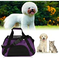 Pets Empire Pet Carrier Soft Sided Cat/Puppy Small Comfort Mineral Bag Travel Approved (Color May Vary) Size: 20.67 x 9 x 13.58inch