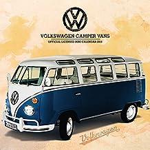 VW Camper Vans Official 2018 Mini Calendar
