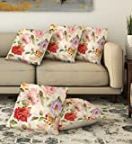 #3: La Verve Cotton Print Cushion Cover 16X16