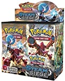 #5: DAY Pokeemon Steam Siege Trading Cards Game-Pack Of 5