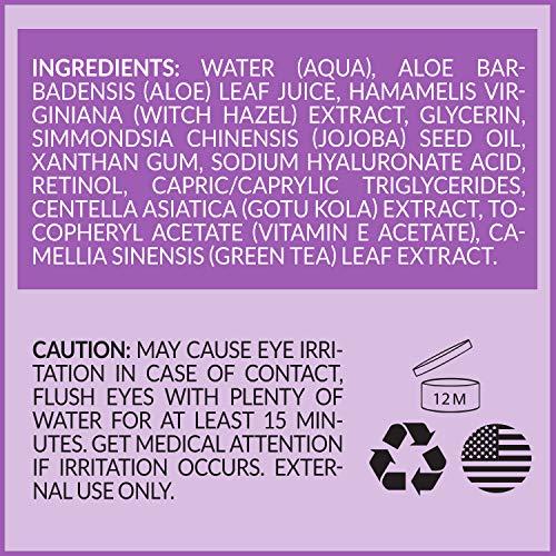 ArtNaturals Retinol Serum mit Vitamin C und Hyaluronsäure – Naturrein – 30 ml - 2