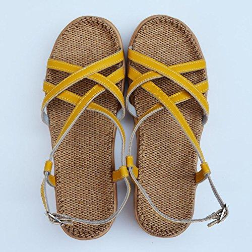 XY&GKBettwäsche Sandalen Frauen alleinigen Foot Pads der Sommer Damen Sandalen, komfortabel und schön p - 35