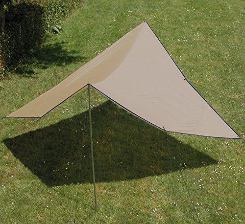 Euro Trail Tarp Turner 300 bis 500 cm Sonnensegel Wetterschutz (300 x 300 cm)