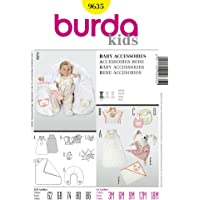 Burda B9635 patron de couture,BLANC-13X20 CM