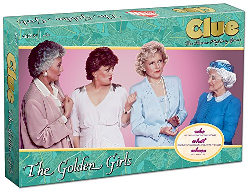 USAopoly die Golden Girls Clue Board Game