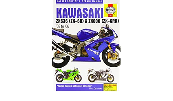 Service Repair Manuals Zx600 Zx636 4742 Haynes Kawasaki Zx 6r 2003 2006 Workshop Manual Vehicle Parts Accessories Visitestartit Com