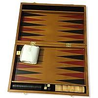 Boxania® Luxury Collection Wooden Backgammon Board Game Set