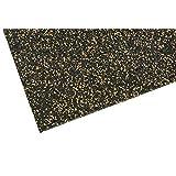 Tapis de base pour Appareil de fitness ✓élevée Stabilité✓ Robuste Protection du plancher ✓ Antidérapant Tapis de sol,Multifonction mat Revêtement de sol pour la salle de fitness