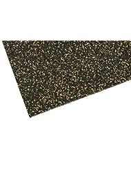 Esterilla de base para Equipo de gimnasia ✓ Aumentado Estabilidad ✓ Robusta Protección de suelos ✓ Antideslizante Alfombra del piso,Múltiples funciones mate Suelo para sala de Fitness