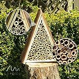 Gardigo Bienenhotel, Bienen-Insektenhotel, Bienenhaus zum Nisten und Überwintern - 8