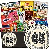 Die besten Schokolade Geschenkkörbe - 65. Geburtstag Geschenkset | Geschenk Schokolade | Geschenke Bewertungen