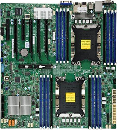 Supermicro x11dpi-n Intel C621Extended ATX Server/Workstation Mainboard–Server/Workstation Mainboard (Extended ATX, Server, Intel, 10.4GT/s, 205W, DDR4-SDRAM)