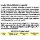 Friskies Chat Croquettes pour chat adulte B½uf, Poulet & Légumes ajoutés 7,5 kg