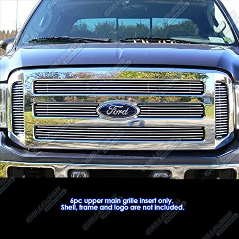 05-07 Ford F250/F350 Super Duty/Excursion Billet Grille Grill Insert #