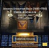Produktname: J.S.Bach Orgelbüchlein BWV 599-644 (46 Choralvorspiele) [Christian Schlicke an der Karl-Schuke-Orgel der Kaiser-Wilhelm-Gedächtnis-Kirche Berlin 2012/2014 (Neuauflage)]