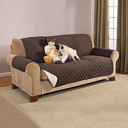 """Protector de Sofá, Funda Sofa Impermeable,Funda Protectora de Muebles Reversible Resistente al Desgaste para Muebles Mat Pet 70,87""""x 98,43"""""""