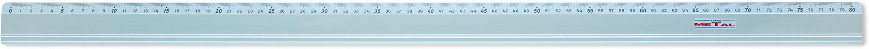 Lyra Metal Riga Con Gomma 80 cm in busta PVC