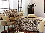 Set di biancheria da letto di lusso, con federe, lenzuolo piano e copripiumino, disegno quadrettato scozzese Kelso (matrimoniale), Multi, King