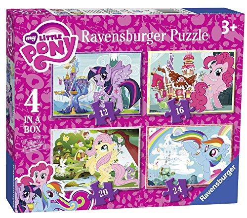 Ravensburger 6896My Little Pony, 4Puzzle in Einer Box, 12, 16, 20und 24Teile