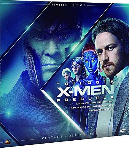 X-Men Trilogía Precuela Colección Vintage Funda