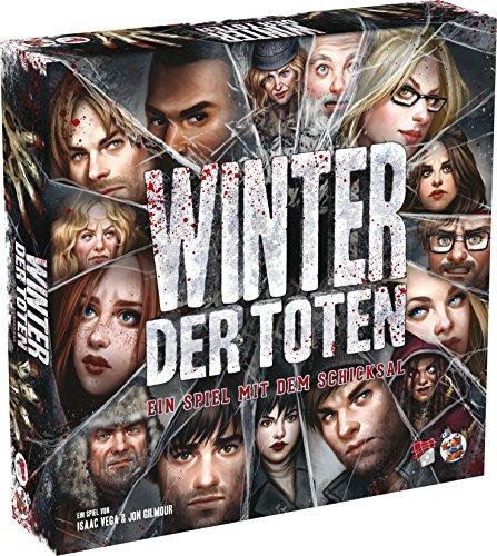 Asmodee  HE735 - Winter der Toten Spiel mit dem Schicksal, Brettspiele