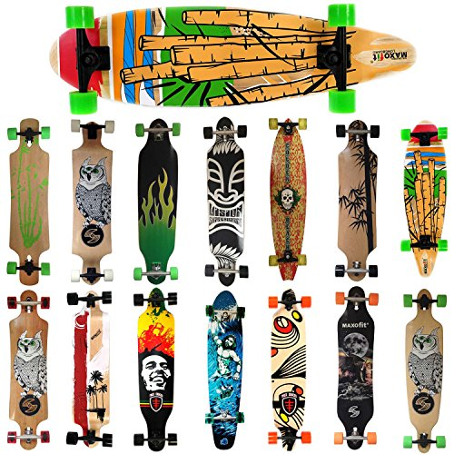 MAXOfit Deluxe Cruiser Longboard (Cartoon No.05) Sonderaktion
