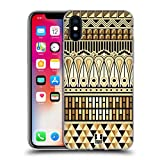 Head Case Designs Ägypter Art Deco Multikulturelle Ethnische Drucke Soft Gel Hülle für Apple iPhone X
