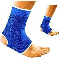 V&AMYA 2 Cavigliere Elastiche, Supporto per slogature e distorsioni, cavigliera Sportiva per Uomini e Donne