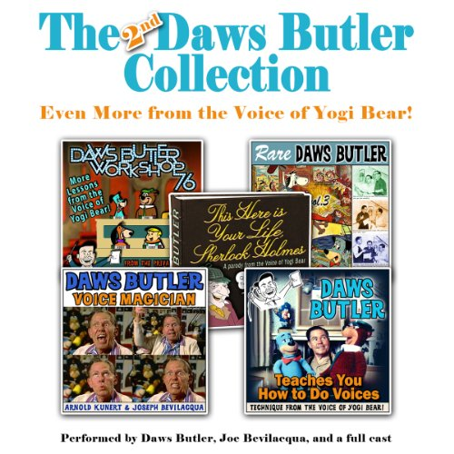 The 2nd Daws Butler Collection  Audiolibri