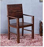 #6: Shilpi Sheesham Wooden Handmade Easy Comfort Chair in Provincial Teak Finish