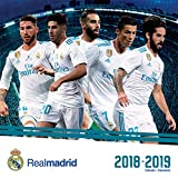 Real Madrid 17 Month 2018-2019 Calendar