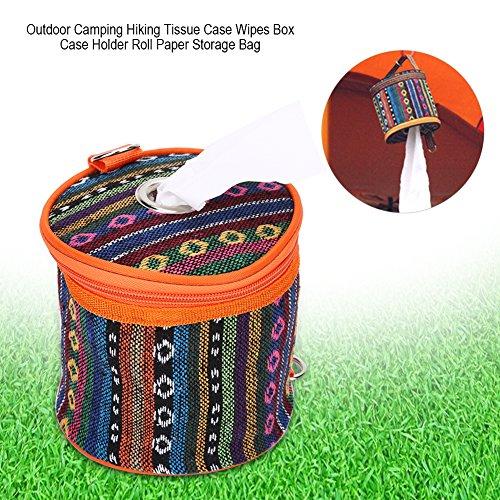 Tissue Box Case Halter Abdeckung Wipes Rollenpapier Box Case Halter Aufbewahrungstasche Wasserdichte Toilettenpapier Aufbewahrungskoffer Box Container für Outdoor Camping Wandern