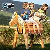 NEU Holzpferd Bayerwald-Pony Fanny TÜV-Süd GS Holzpony Garten Douglasie 89cm