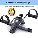 The Brand -Owme Fitness Cycle - Foot Pedal Exerciser - Foldable Portable Foot, Hand, Arm, Leg Exercise Pedaling Machine...