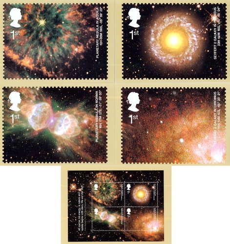 astronomie-set-phq-246-karten-royal-mail-mint