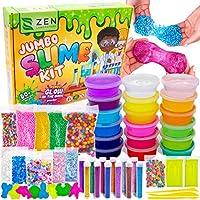 DIY Slime Kit Set per Fai da Te Creativo - Kit de Slime Per Colla con Glitter Fabrica per Slime Fluorescente, Colla...