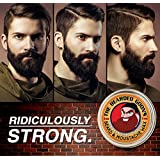 The Bearded Goon's RIDICULOUSLY STRONG Beard & Handlebar Moustache Wax - 1oz (30ml) Strongest Hold for Mustache, Beards, and Facial Hair