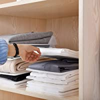 MacYess Cloth Organizer, Anti-Wrinkle Wardrobe Closet Organiser Clothing Trays - Stackable Clothes Organization System…