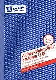Avery Zweckform 1739-5 Auftrag/Lieferschein/Rechnung  5er Pack