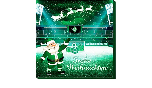 120/g Riegelein Advent Calendar Werder Bremen