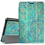 Fintie Huawei Mediapad T3 8 Hülle Case - Ultra Dünn Superleicht SlimShell Ständer Cover Schutzhülle Tasche mit Zwei Einstellbarem Standfunktion für Huawei T3 20,3 cm (8,0 Zoll), Jade