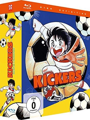 Kickers - Gesamtausgabe - Episode 01-26 + OVA [4 Blu-rays]