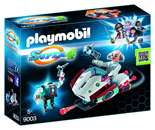 Playmobil Super 4 - Skyjet con Dr. X y Robot 9003