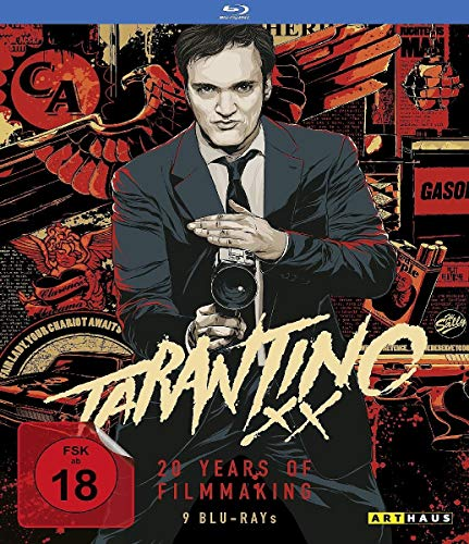 Bild von Tarantino XX: 20 Years of Filmmaking (Reservoir Dogs/True Romance/Pulp Fiction/Jackie Brown/Kill Bill, Vol. 1/Kill Bill, Vol.2/Death Proof/Inglorious Basterds) [9 Blu-rays]
