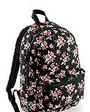 Damen Frauen Rucksack Blumen Flower Bagbase Schule Uni Ranzen Tasche