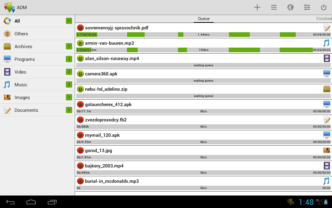 Advanced Download Manager: Amazon co uk: Appstore for Android