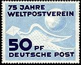 Briefmarken DDR 1949, Mi. Nr. 242, 75 Jahre Weltpostverein, Postfrisch