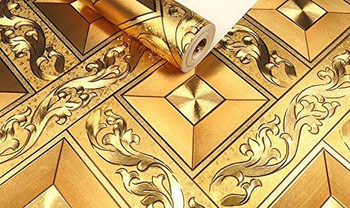 mise-a-niveau-epaisse-dore-argente-dore-diamant-carre-plafond-fixation-plafond-dessin-papier-peint-0