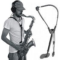 YUANZHOU Cinturino per Sassofono Cinturino per Collo di Sax di qualità per Soprano - Baritono Clarinetto Basso E Fagotto